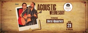 acoustic wednesday ft. desi quarter - baner balewadi - Acoustic Wednesday Ft - Acoustic Wednesday Ft. Desi Quarter – baner balewadi